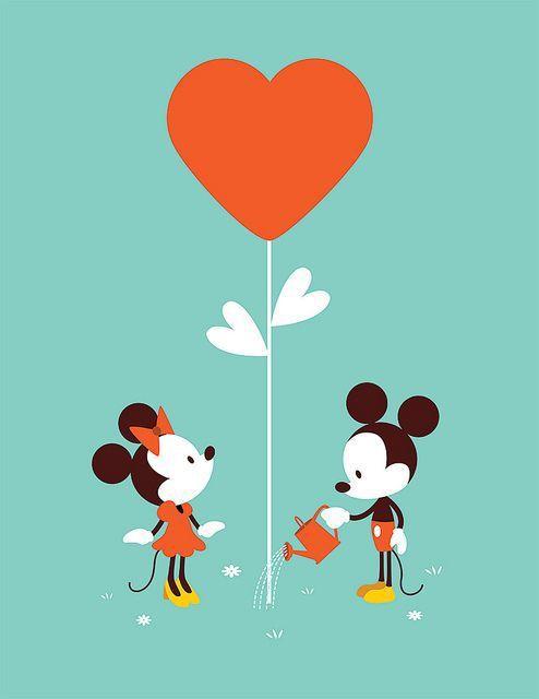 :) #mickeyandminnie #cute #sha #love