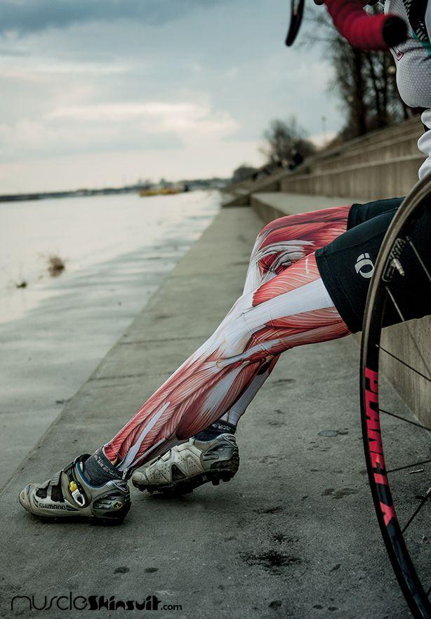 woman muscular legs