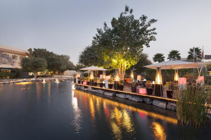 Jumeirah Creekside Hotel - Dubai Restaurants - Nomad restaurant deck area - Asian