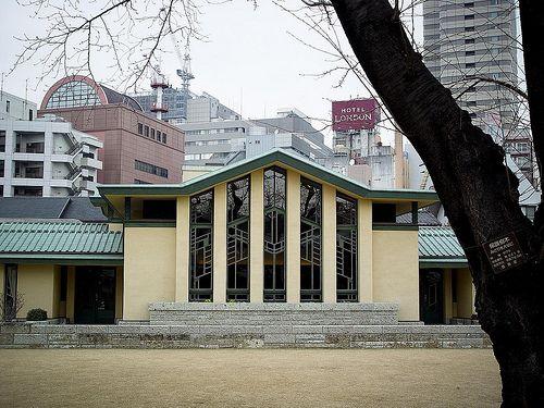 Frank Lloyd Wright S Jiyu Gakuen Girls School Frank