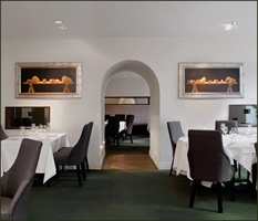 Chapter One Restaurant, Parnell Square, Dublin City. This Michelin star restaurant is set in a former home of John Jameson. It retains authentic granite walls and sash windows and has been carefully and stylishly renovated to create a wonderfully sumptuous and comfortable restaurant.