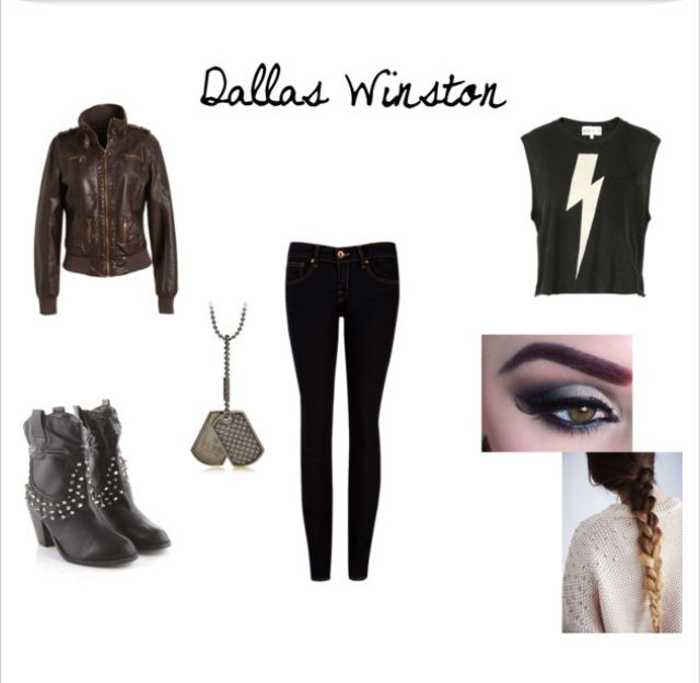 Girl Version Of Dallas Winston -- My Creation | Clothes | Pinterest | Style Dallas And Girls