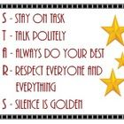 Here's a classroom behavior poster that can be utilized with a Hollywood themed classroom. ...