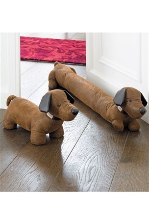 Cute Dog Door Stop & Excluder from Next #mycosyhome