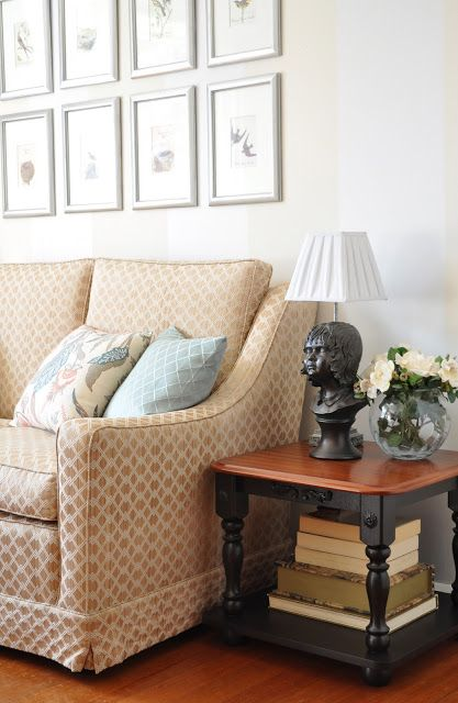 1000 ideas about budget living rooms on pinterest living room brown brown sofa decor and - Living room makeover on a budget ...