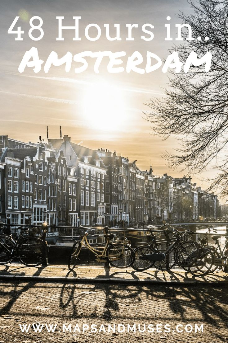Only have 48 hours in Amsterdam? Here's everything you should do, see, eat, and try while you're in Amsterdam. Check it out here: https://www.mapsandmuses.com/48-hours-in-amsterdam/ Amsterdam | 48 Hours In Amsterdam | Amsterdam Travel Guide | Travel Guide | City Guide | Amsterdam City Guide | Travel Tips