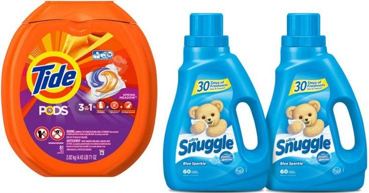 Amazon: Tide PODS 81-Count Tub Just $13.51 + Snuggle Fabric Softener $3.48 Per Bottle - https://couponsdowork.com/amazon-deals/amazon-tide-pods-81-count-tub-just-13-51-snuggle-fabric-softener-3-48-per-bottle/