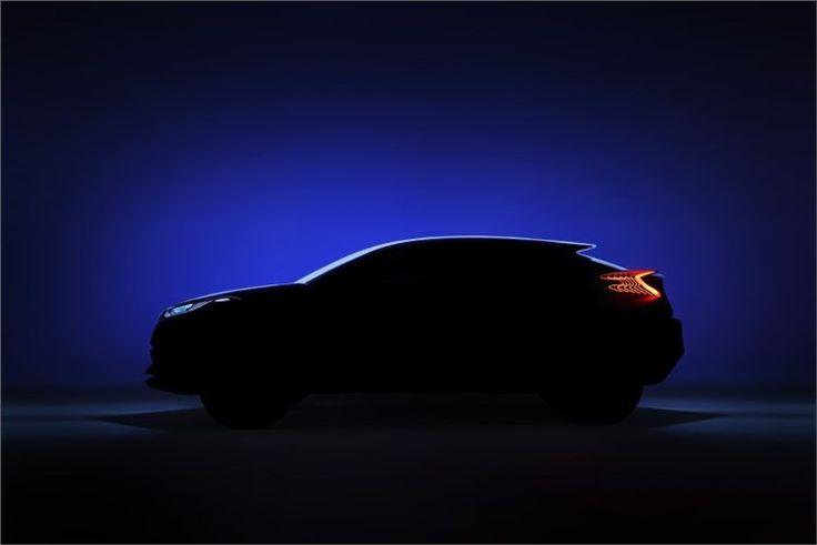 Toyota apresenta Concept Crossover Híbrido no  Salão de Paris 2014
