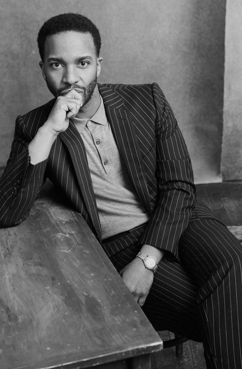"bwboysgallery:  ""Andre Holland for the Hollywood Reporter  """