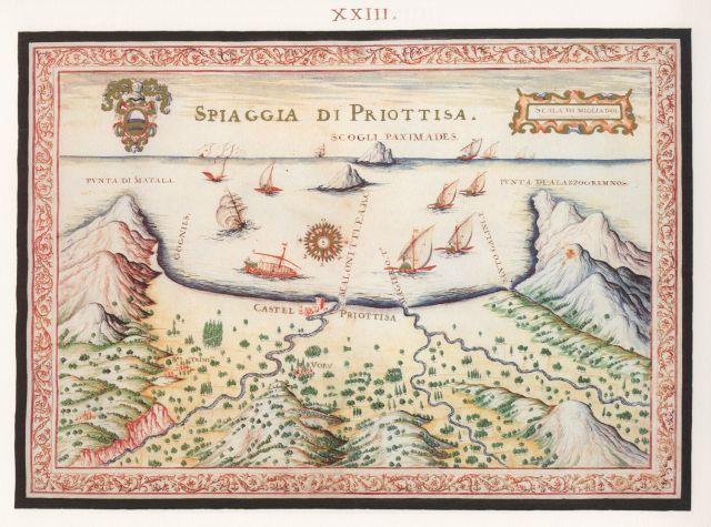Η παραλία της Πυργιώτισσας.....Francesco Basilicata..για την Κρήτη...1618 - 1638.