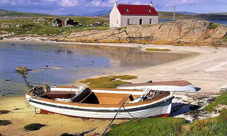 Nigel Farrell has spent much of the last year living and working on the small island of Barra in the Outer Hebrides, off the north-west coast of Scotland, making the BBC2 documentary series An Island Parish.