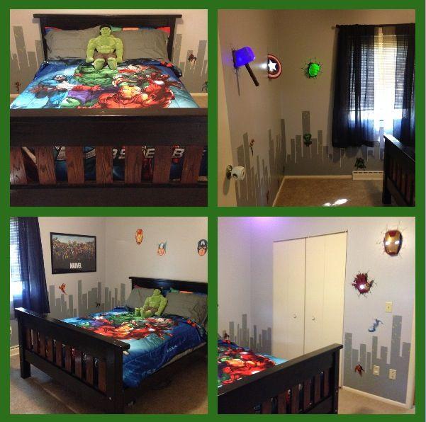 Avengers..... Assemble | Avengers bedroom, Bedroom ...