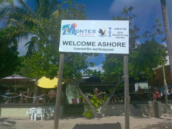 Welcome ashore!