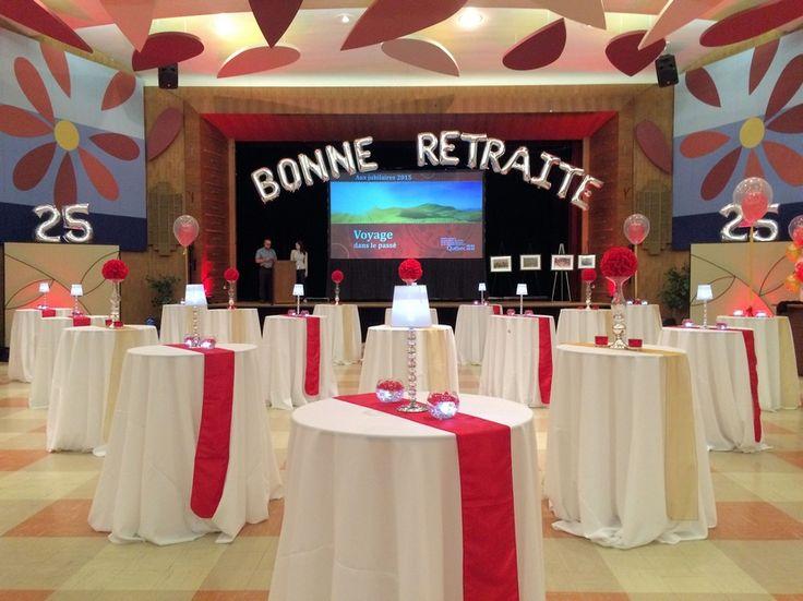 dcoration vnement corporatif dcoration salle location centre de table housse de chaise - Salle Mariage Vallet