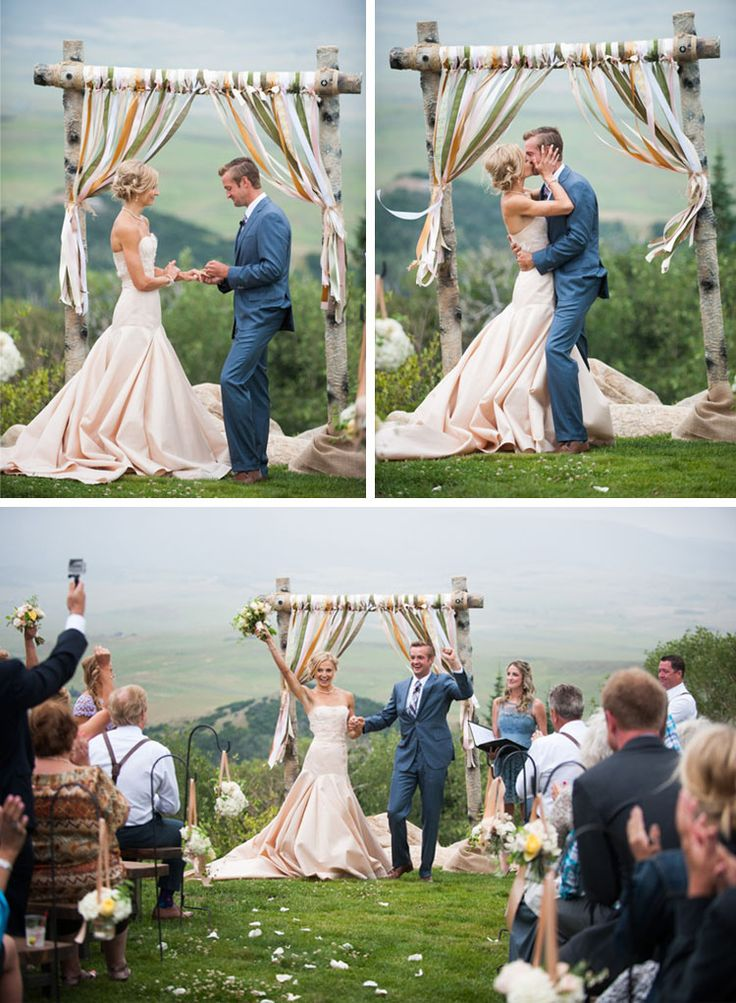 "Check out these 15 AMAZING ""You may kiss the bride"" moments! Loved number 12!"