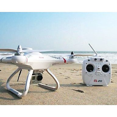[CyberMondaySale]CX-20 Cheerson Auto-GPS Pathfinder Autopilot System Drone Copter (Câmera não incluída) – BRL R$ 992,77