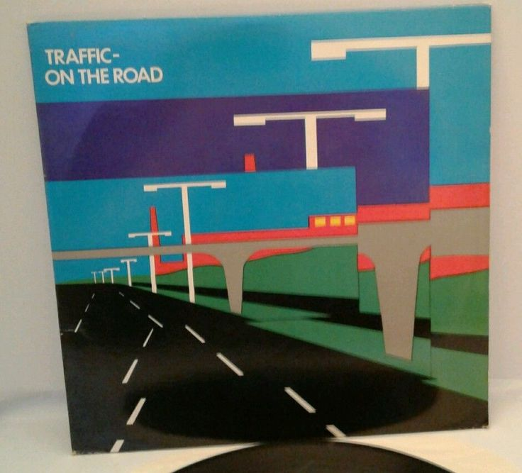 Traffic Band 33 RPM LP ON THE ROAD 2LP GATEFOLD VINYL 1973 Island Records EX/EX