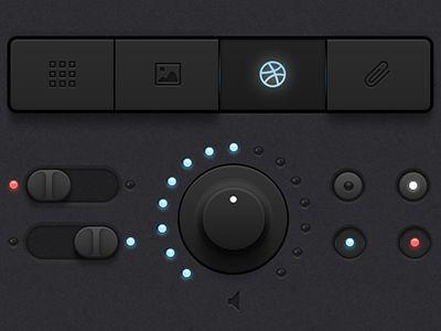 Beautiful black interface. Love it.