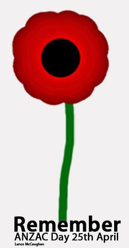 ANZAC Poppy