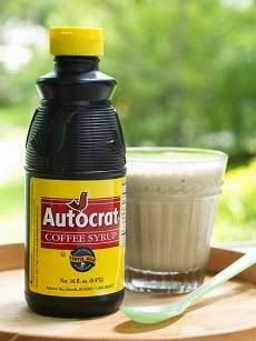 The Prudent Home: Coffee Syrup ~ Copycat Autocrat Recipe - Homemade coffee syrup for the famous Rhode Island coffee milk! So good!
