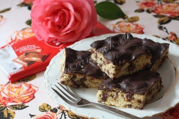 Рецепт шоколадно-имбирного кухена