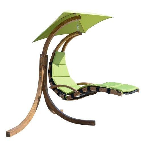 Outdoor Hanging Sky Swing Chair with Stand