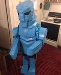 Rock'em Sock'em Robots Homemade Costumes - 2014 Halloween Costume Contest