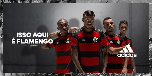 Camisas do Flamengo 2015-2016 Adidas