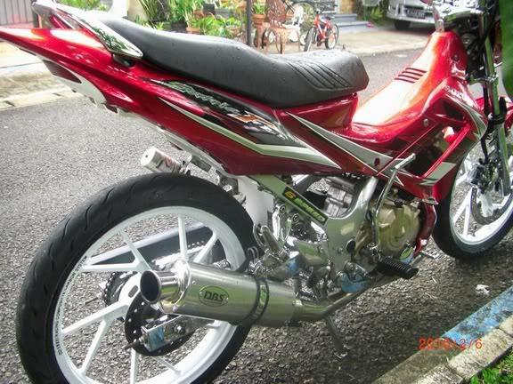 gambar foto modifikasi motor satria fu 2011