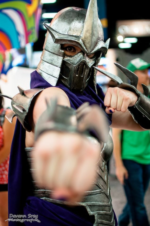 Shredder || Coolest Comic-Con Cosplay Day 2: The Reckoning
