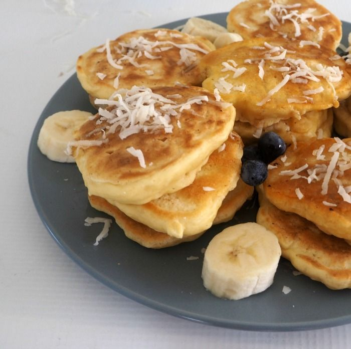 Looking for an easy snack? These Thermomix Coconut Pikelets are for you! Recently when the kids asked if we could make 'little pancakes' for our morning