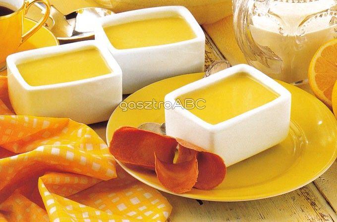 Meleg citromos tejszín   Receptek   gasztroABC