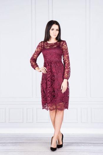 Sukienka koktajlowa koronkowa