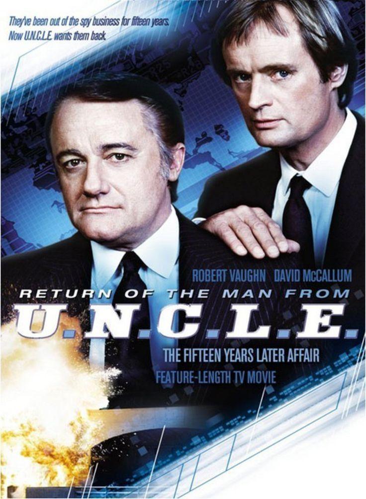 Des agents très spéciaux (The Man from UNCLE) - Série  américaine (1964 - 1968) - Acteurs : Robert Vaughn (Napoleon Solo), David McCallum (Illya Kuryakin)