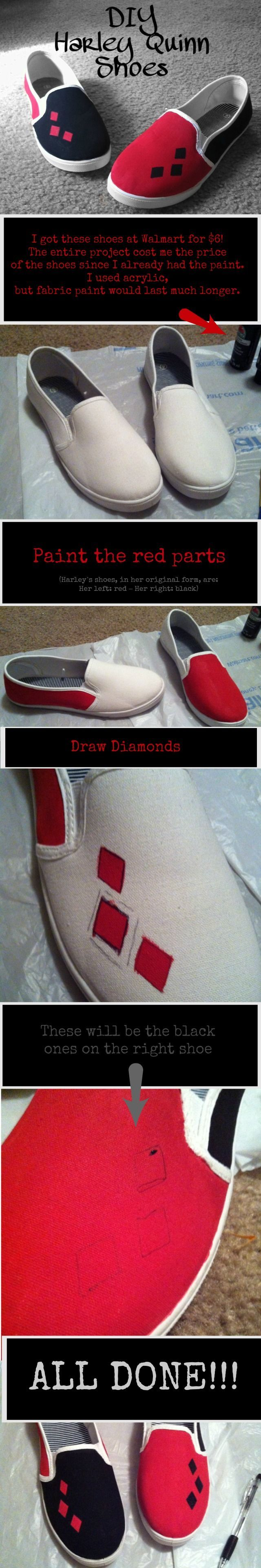 harley quiin shoes