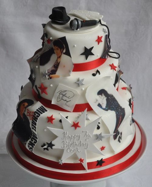 Edible Cake Images Michaels : 135 best images about Michael Jackson Cakes on Pinterest ...
