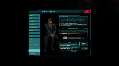 Shadowrun Returns: Street Samurai - Orcz.com, The Video Games Wiki