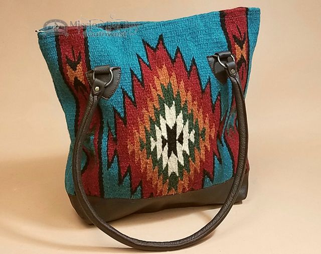 d3049e96b Western Zapotec Wool Rug Artisan Purse (s2a) - Mission Del Rey Southwest