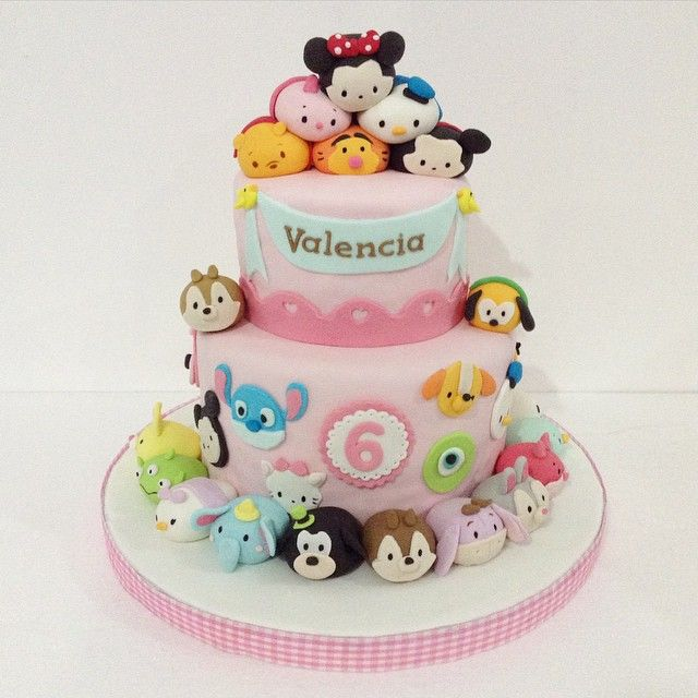 Disney tsum tsum cake by delightfullycake on instagram