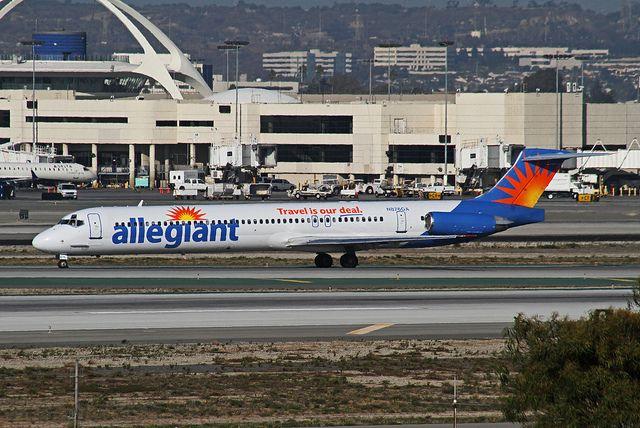 Allegiant Airlines, McDonnell-Douglas MD-83