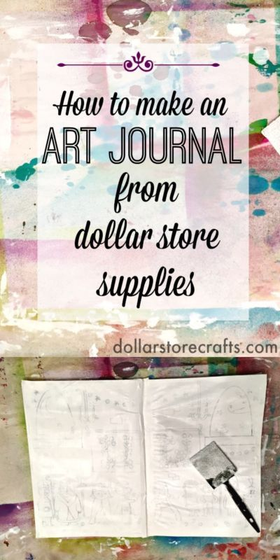 How to Make an Art Journal From a Notebook   eBay