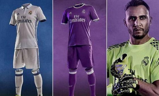 Nueva Camiseta Real Madrid 2017 baratas