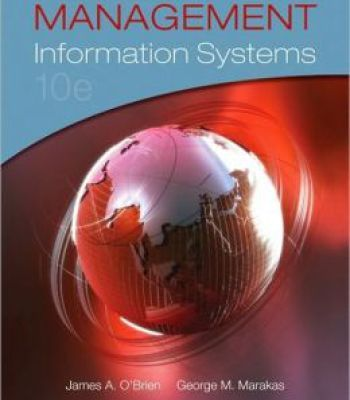 Management Information Systems 10th Edition PDF