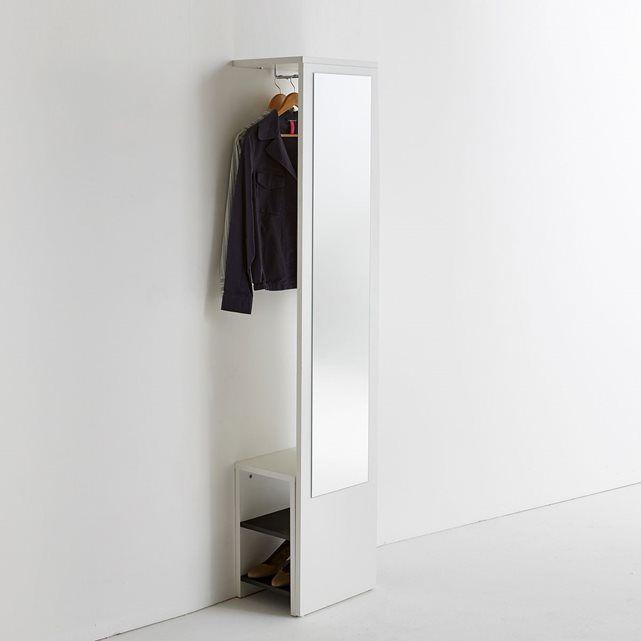 Vestiaire mural avec miroir et banc, Reynal La Redoute Interieurs : prix, avis & notation, livraison.  Le vestiaire mural tout-en-un, avec miroir et banc à chaussures. Tout ce dont vous avez besoin dans un seul meuble : un vestiaire + un grand miroir (très précieux pour vérifier votre tenue de pied en cap) + un banc à chaussures, amovible si vous le souhaitez. Ce meuble ultra pratique, fonctionnel et design est de fabrication française.Descriptif du vestiaire mural tout-en-un Reynal :1 barre…
