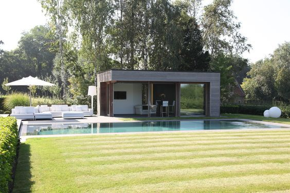 pool house de piscine prix infos pour bien le construire piscine pinterest piscines. Black Bedroom Furniture Sets. Home Design Ideas