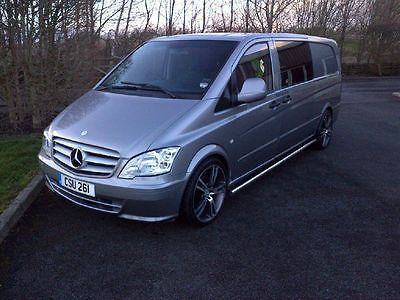 mercedes vito xlwb 2013 facelift custom surf van day van over 10K spent in Cars, Motorcycles & Vehicles | eBay