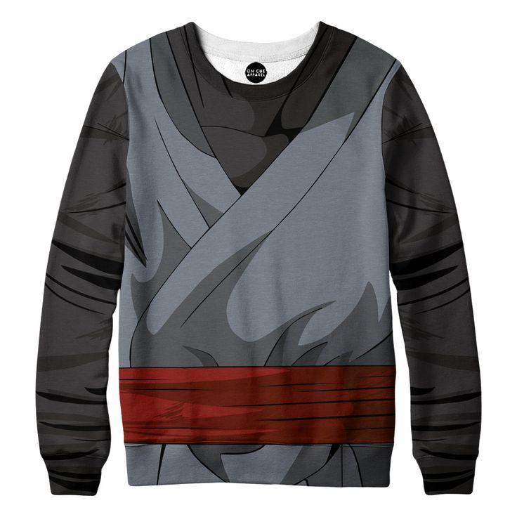 Black Goku Outfit Sweatshirt