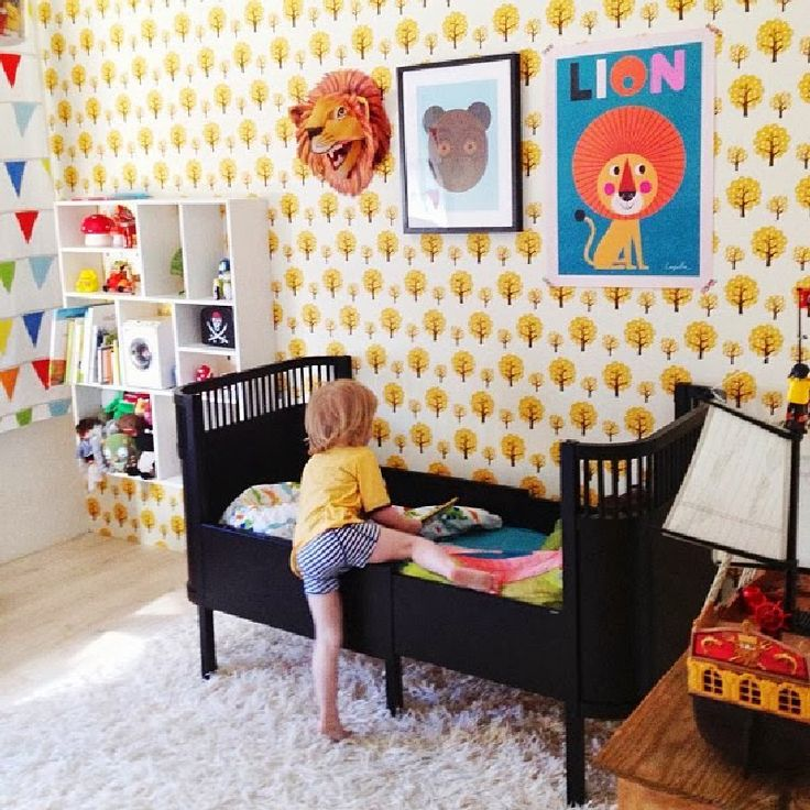 No time for lion around! ~ 10 Lovely Little Boys Bedrooms | Tinyme Blog