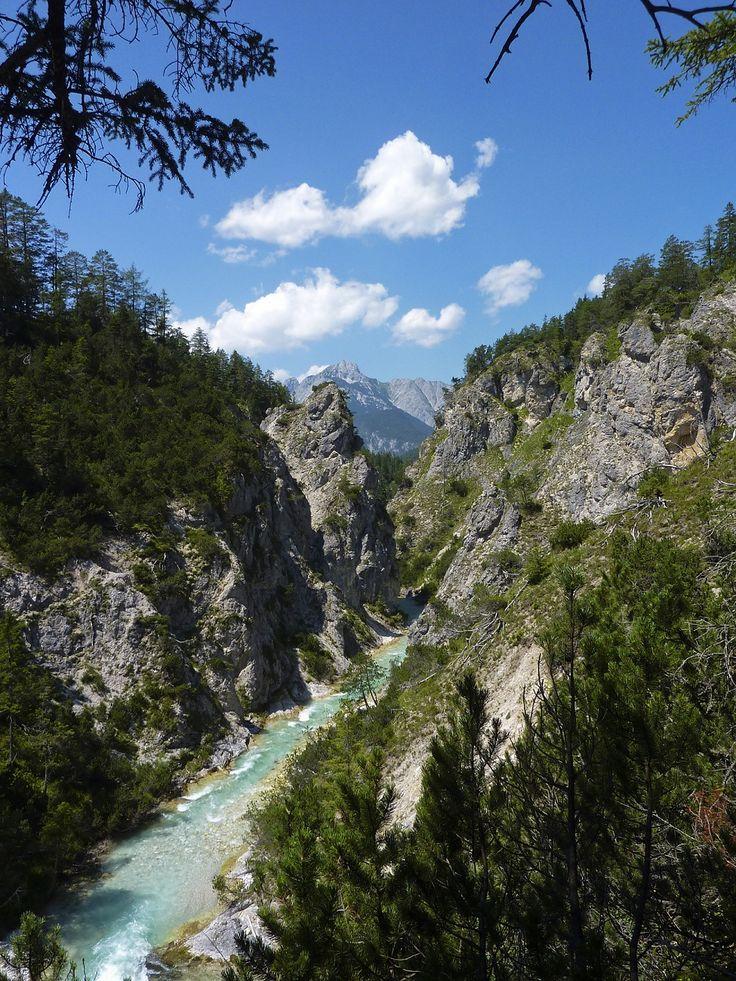 Isarursprung – wo die Isar noch eine Tirolerin isch   Naturpark Karwendel