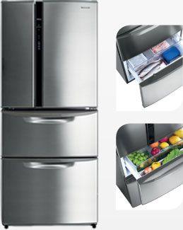 Panasonic - Refrigerador D513